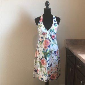 (NEW) Tommy Bahama Beach Floral Halter Dress sz Lg